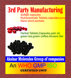 Third party manufacturing,pharmaceutical capsules