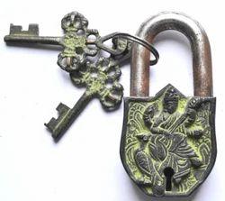Brass Made Maa Swarsati Ji Lock