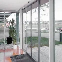 Automatic Sliding Glass Door System