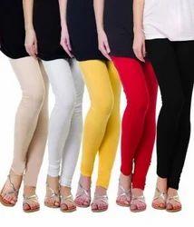 LITE ROSE vivid colours 4 Way Lycra Leggings