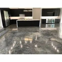 Brown Polished Concrete Flooring Service