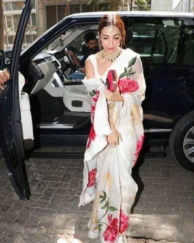 Bollywood Replica White Saree