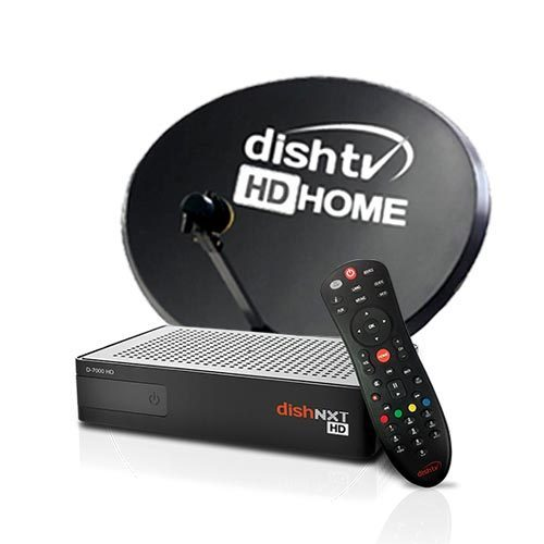 Dishtv Nxt Hd Recorder Set Top Box With 1 Month Titanium Sports Pack