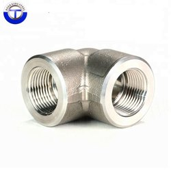 Alloy Steel A182 F11 Threaded Elbow