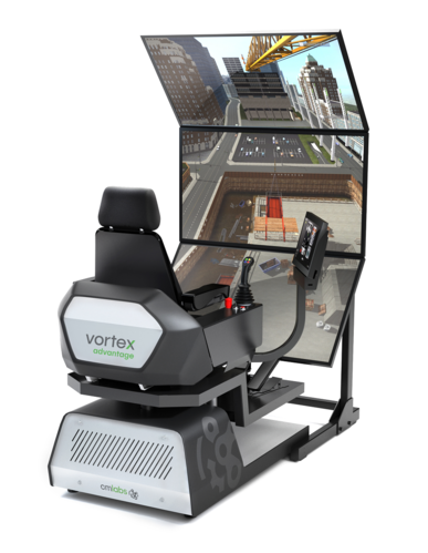 Mobile Crane Simulator