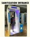 Sanitization disinfectant tunnel