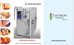Ice Cream Continuous Freezer