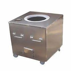 Stainless Steel Square Tandoori Pot
