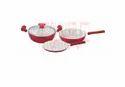 Polished Aluminium Cookware Set- 4 Pcs. Set