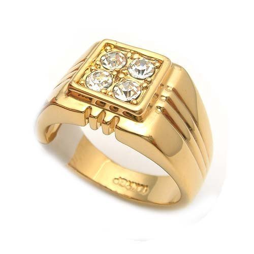 Men Gold Ring Gold Rings Valentine Jewellery India Private