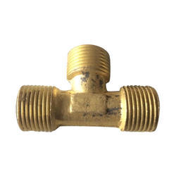 Brass Tee Elbow