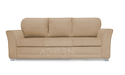 Adorn India Alexia Five Sofa Seater 3-1-1 (Beige)