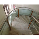 SS Stairs Glass Railing