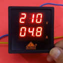 Dual Display Volt Ampere Meter