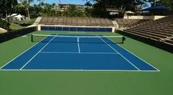 Synthetic Tennis Courts Construction Service