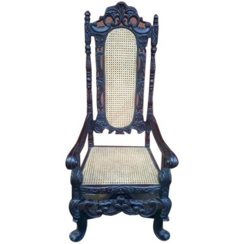 Antique Wooden High Back Chair Rs