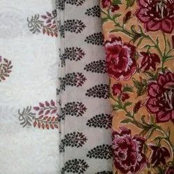 Maati-The Boutique 44-45 Printed Cotton Fabric, GSM: 100-150 GSM, Packaging Type: Roll