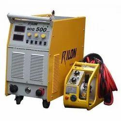 Three Phase Rilon MIG 500 MIG Welding Machine, Automatic Grade: Manual