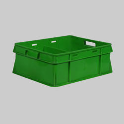 Green Milk Pouch Crate