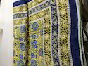 Sun Flower Hand Block Printed AC Comforter & Dohar