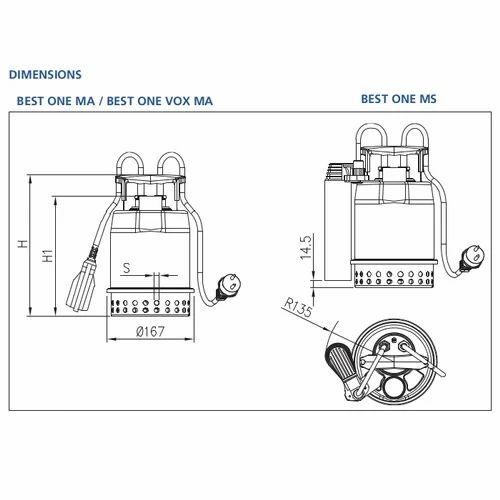 A T E  A T E  BEST 0-20 M Submersible Pump | ID: 20318778591