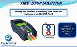 BIS Registration for Point of Sale Terminals