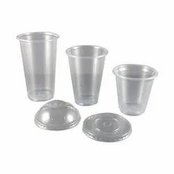 Plain Disposable Plastic Glass, Packaging Type: Packet, 0.5-2 Mm