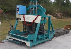 Hollow,Solid,Concrete Block Making Machine In Coim - Double Punch
