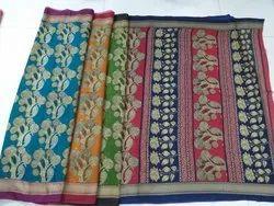 Printed Kota Silk Saree
