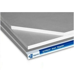 6 feet White Gypsum Board, Rectangular, Thickness: 12.5mm