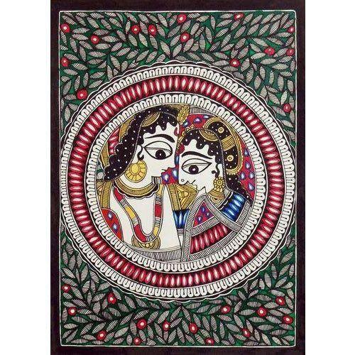 Decorative Madhubani Painting