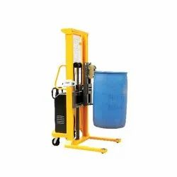 FIE-239 Semi-Electric Drum Stacker with Scale