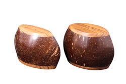 Coconut Shell Salt & Pepper Set
