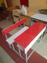 School Desk And Bench - Dual Type