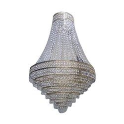 Round Ceiling Crystal Chandelier