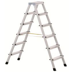Industrial Aluminum Folding Ladders