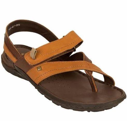 2959678cdf9f6 Brown Solflex SF-9041-AP16 Sandals Tan