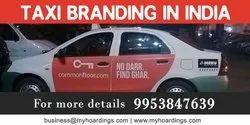 Vinyl Taxi Branding Services, Pan India