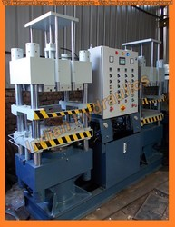 Indian Hydraulics Rubber Transfer Molding Press, Capacity: 200 Ton