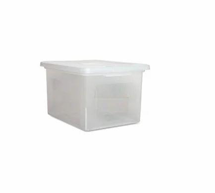 Plastic Document Storage Container Box