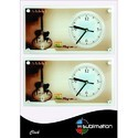 Fancy Sublimation Wall Clock