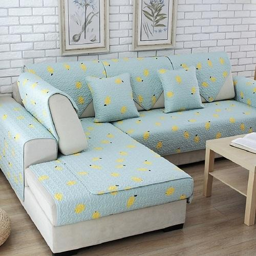 Polycotton Printed Sofa Cover Size 61x74 Inch Rs 300 Set Id