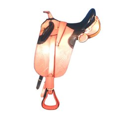 Polished Horse Saddle