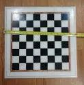 Handcarved Black And White Marble Chess Set With Figures