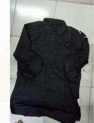 Black Plain Kurta For Men