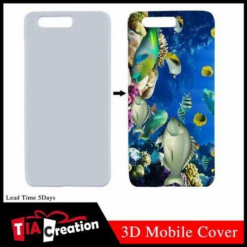 Matte Finish 3D Mobile Cover Sublimation