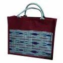 Printed Designer Jute Lunch Bag