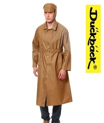 Long Industrial Raincoat