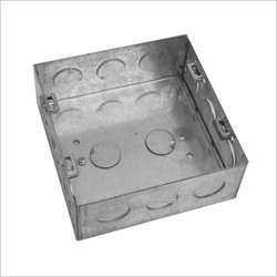 Rectangle GI Electrical Box, for Junction Boxes