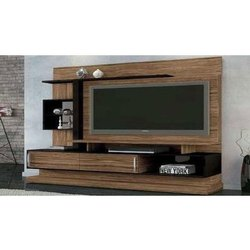 Wall Mounted Designer Wooden TV Cabinet, Max TV Screen Size: 60-69 Inch